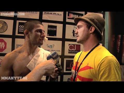 MMAnytt.se - StudioMMA.com | Sirwan Kakai and Brad Pickett post Superior Challenge 7
