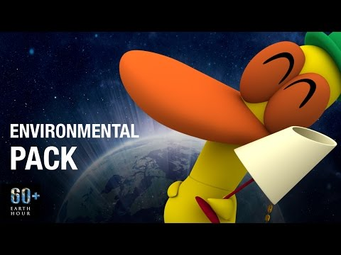 Pocoyo & The Thrill of Environmental Care | EARTH HOUR