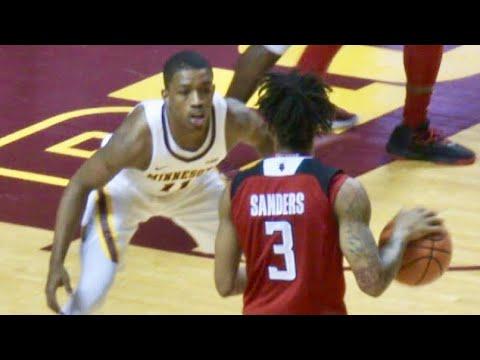 Corey Sanders Vs. Isaiah Washington - Rutgers Vs. Minnesota Highlights