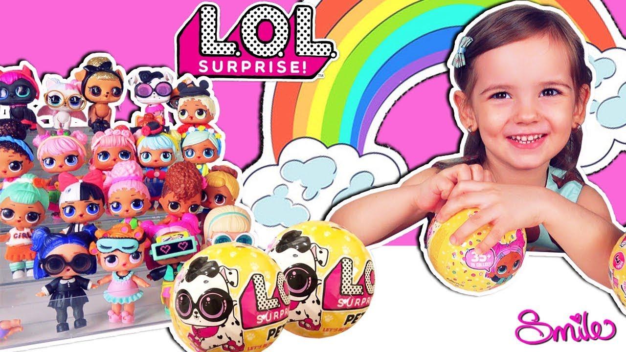 Куклы Лол! Питомцы Лол! Распаковка игрушек и сюрпризов с ...