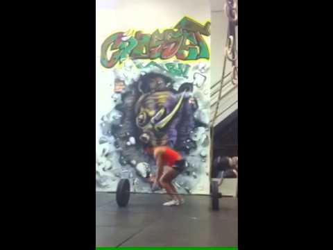 Burpee Over the Barbell