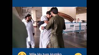 Mile Ho Tum | Special Moments | Lahore Airport