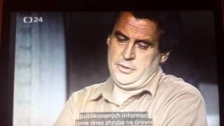 Zeman srpen 1989 ceskoslovenska televize
