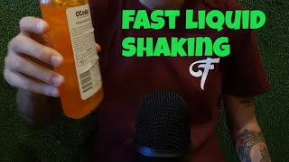 ASMR Fast shaking 10 Different Types Of Liquid (No Talking)