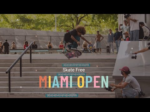 The First Annual Miami Open Skateboarding Contest at Lot 11