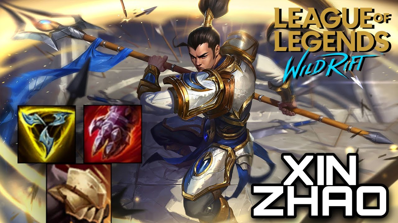 XIN ZHAO - JUNGLE & CARRY | WILD RIFT | WOLF XOTIC