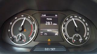Skoda Rapid 2020 AT - для гонщиков есть DSG. Разгон 0-100