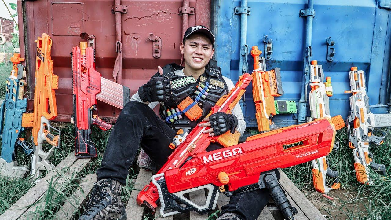 LTT Game Nerf War : Warriors SEAL X Nerf Guns Fight Criminal Group Mr Zero Crazy Special Mercenary