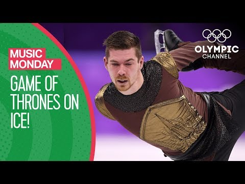 Game of Thrones Theme brought to life by Figure Skater Paul Fentz   Music Monday