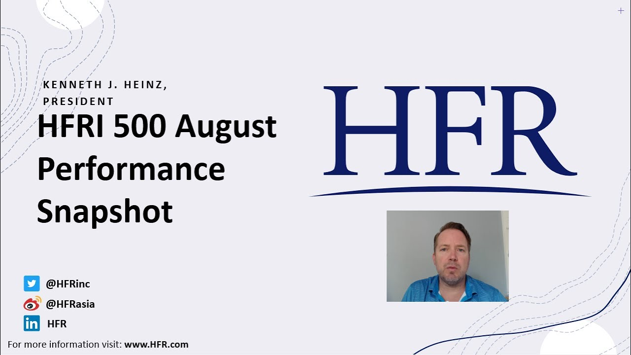 Download HFRI 500 August 2021 Performance Update | Hedge Fund Research, Inc. (HFR)