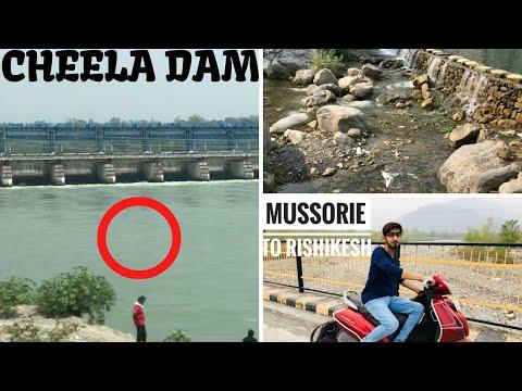 Cheela dam me kon kudda   sahastra dhara me fun   mussoorie - rishikesh - delhi