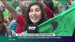 ABORTO NO PUNIBLE: REPERCUSIONES TRAS EL FALLO DE TSJ