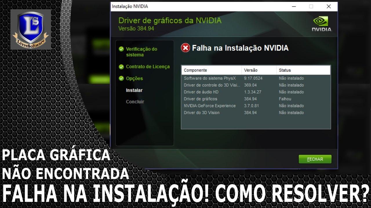 controlador de video compativel com vga gratis