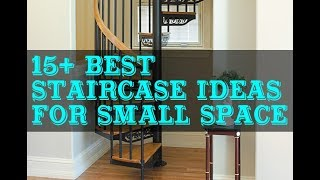 15+ Best Staircase Design Ideas for Small Space