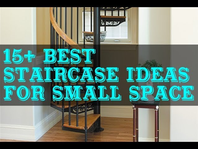 15 Best Staircase Design Ideas For Small Space Youtube   Stair Design For Small House Outside   Handrail   Front Elevation   Spiral Staircases   Concrete   Stair Railing