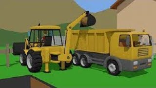 Trucks And Excavators Compilation For Kids | Construction Machines