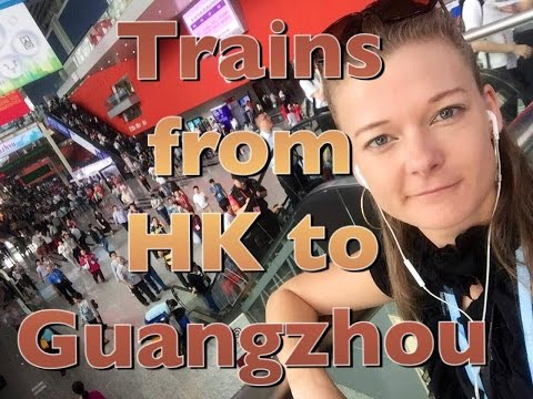 Trains from Hong Kong to GuangZhou