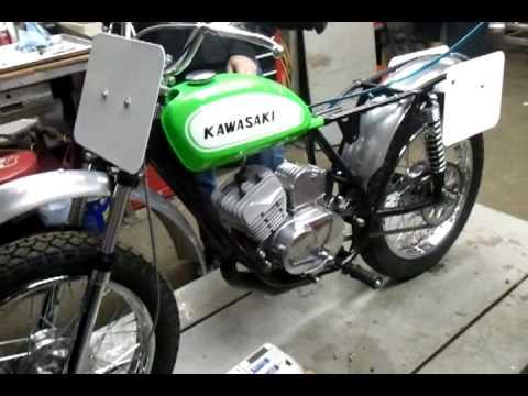 kawasaki g31m centurion 100 startup - youtube