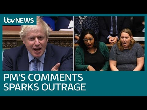 Johnson sparks outrage with murdered MP Jo Cox comments in Commons | ITV News