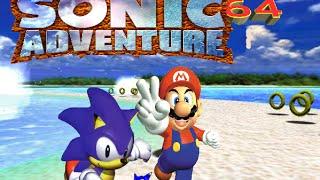 Starsanity64 Plays: Sonic Adventure 64 (Demo)