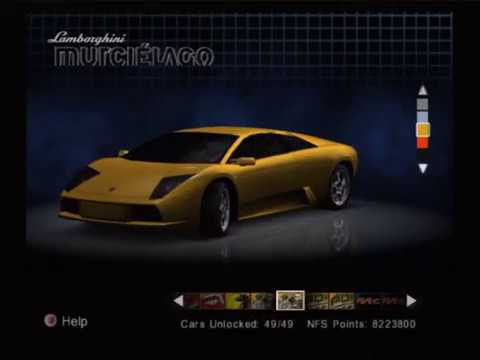 Need For Speed Hot Pursuit 2 Ps2 All Cars Showcase 60fps