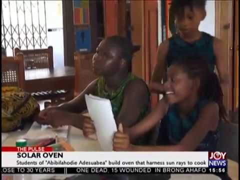 Solar Oven   The Pulse on JoyNews 18 10 18