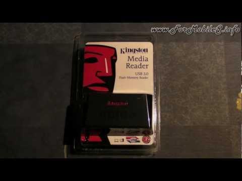 Unboxing di Kingston Media Reader USB 3 - esclusiva italiana !
