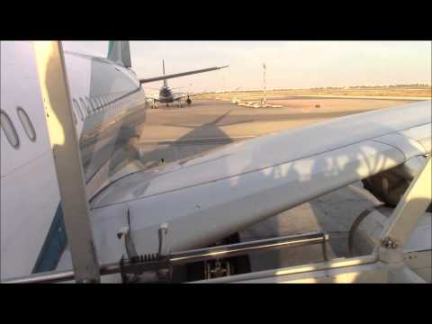 OMAN AIR Airbus A330 Flight Frankfurt to Bangkok (via Muscat)