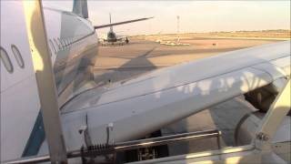 OMAN AIR Airbus A330 Flight Frankfurt to Bangkok (via Muscat)