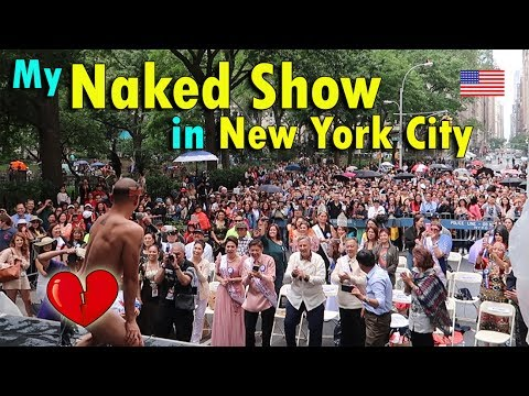 MY NAKED SHOW IN NEW YORK CITY | June 7th, 2017 | Vlog #134