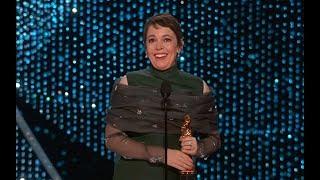 Olivia Colman wins Best Actress award at the Oscars