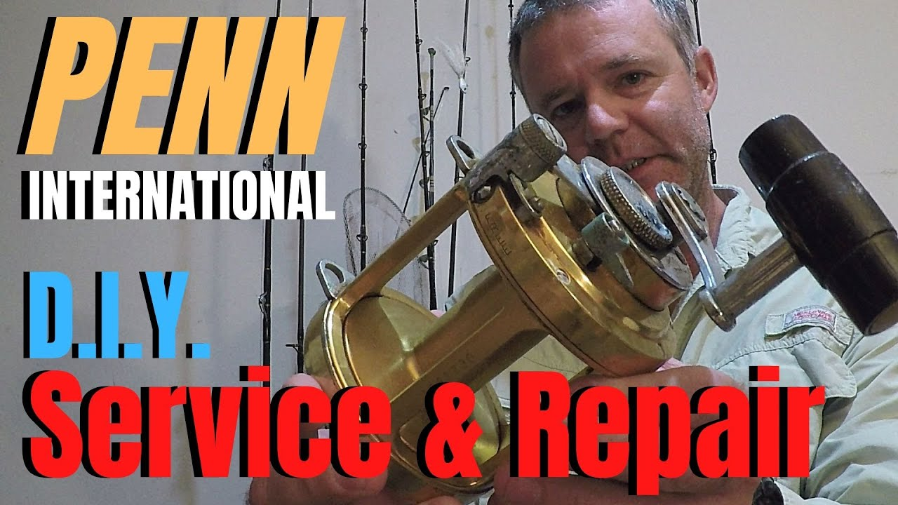 Fishing Reel Maintenance and Repair | Penn International