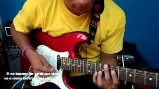 Grande y Fuerte (Guitar Cover) Tutorial