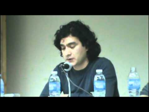 """Omar Acha en el Panel """"Memoria..."""