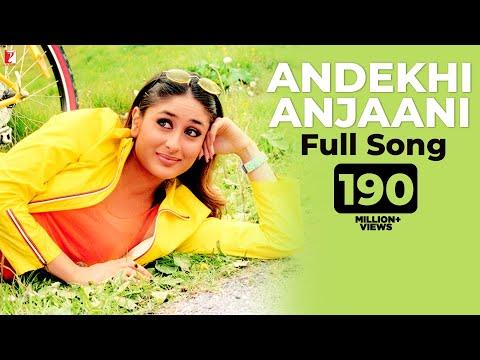 Andekhi Anjaani - Full Song | Mujhse Dosti Karoge | Hrithik | Kareena | Lata | Udit