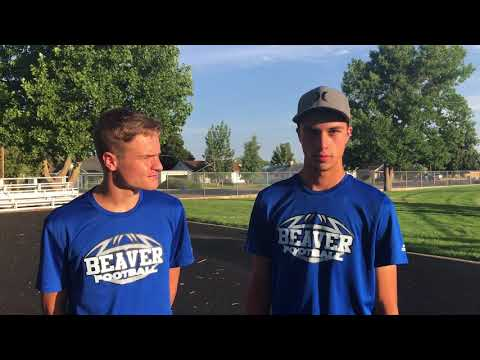 Beaver High School football 2018, Spencer Williams and Preston Roberts