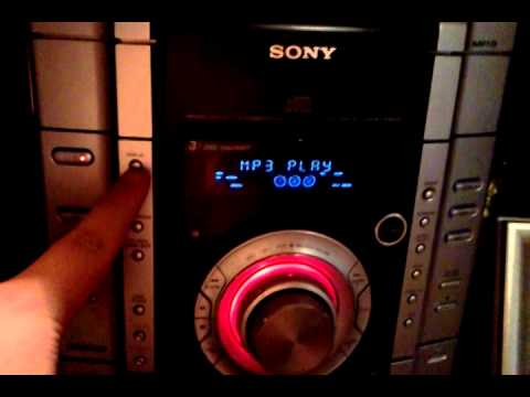 sony stereo demo screen how to turn the demo on and off youtube rh youtube com