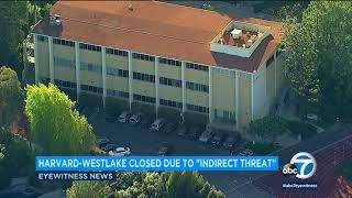 Harvard-Westlake School classes canceled due to social media post I ABC7