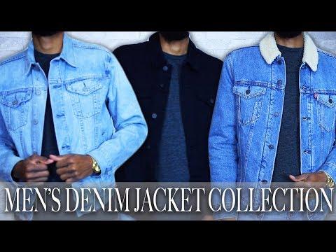 MEN'S DENIM JACKET COLLECTION | MEN'S STYLE