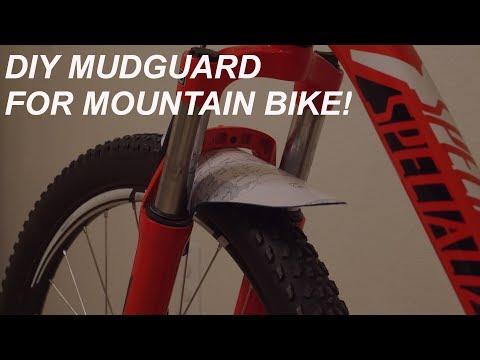 How to Make a MTB Mudguard