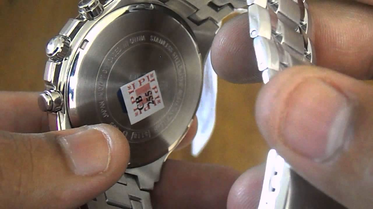 be4a8aa7600 Relógio Casio Edifice Cronografo EF-539D-1A5 - YouTube
