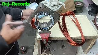 Washing Machine Wash Motor Rewinding Coil Turn Data व श ग मश न म टर र इ ड