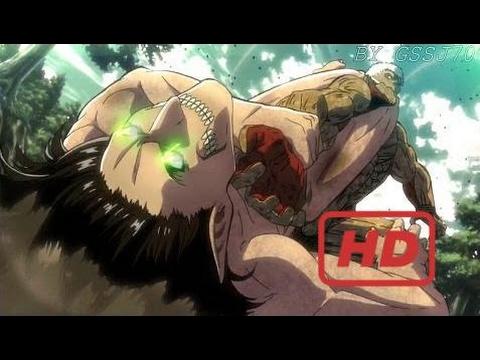 Attack On Titan Season 2 [ AMV ] - Eren Vs Armored Titan