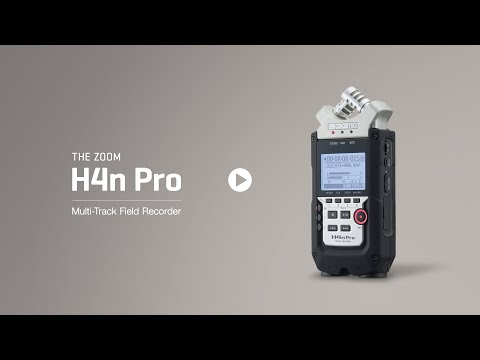 Zoom h4n audio recorder operating guide help wiki.