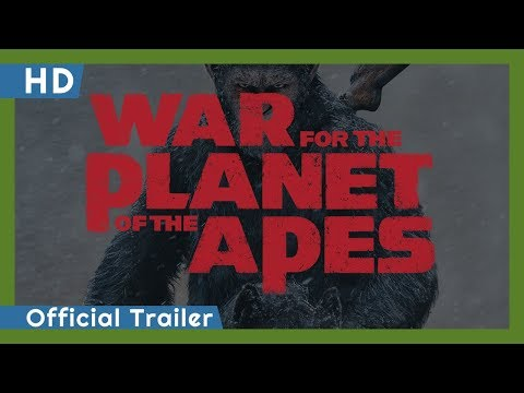 War For The Planet Of The Apes (2017) Official Trailer