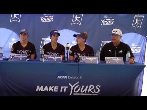 Angelo State Postgame (May 26 2018) * NCAA DII Softball Championship