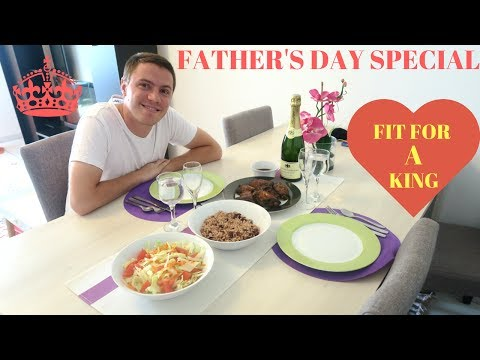 VLOG : FATHERS DAY SPECIAL || EVERYTHING FIT FOR A KING || interracial family vloggers