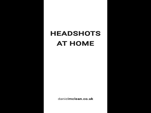 Take better business headshots at home with these professional tips
