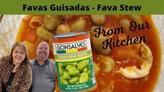 Azorean/Portuguese Style Favas Guisadas - Fava Stew - Delicious Recipe You Can Make at Home!