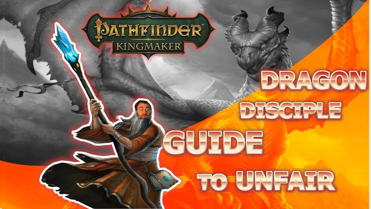 MELEE SORCERESS!!! Pathfinder Kingmaker Dragon Disciple Build Guide for  Unfair Difficulty